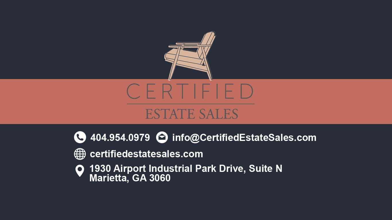 Certified Estate Sales Atlanta GA Contact Information