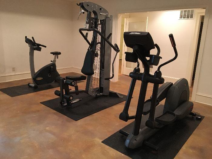 workout equipment for sale at estate sales